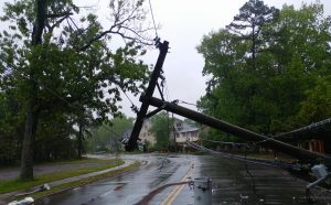 downed live wires